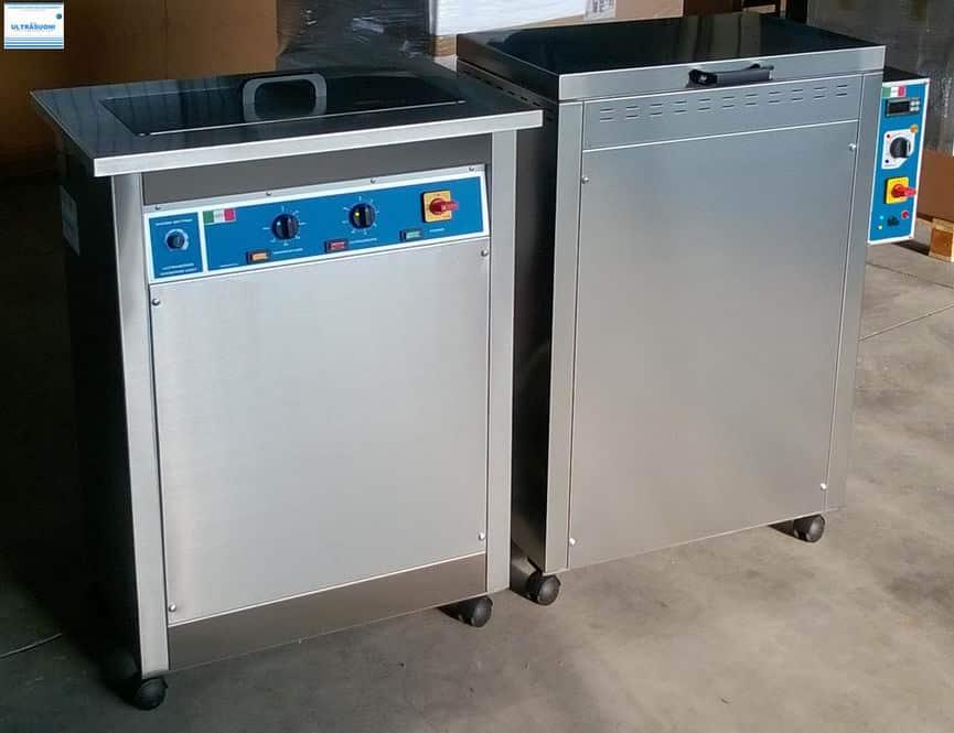 Lavatrici ultrasuoni e forni di asciugatura pezzi e componenti
