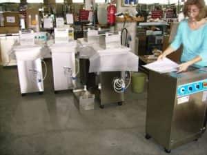 Tecnologie di lavaggio industriale in produzione