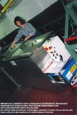 impianti di lavaggio e manutenzione stampi ultrasuoni ie