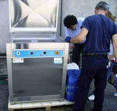 lavaggio stampi, torniture pezzi meccanici