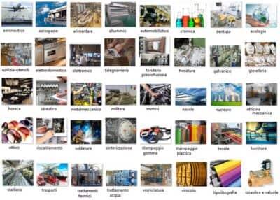 applicazioni e settori di utilizzo